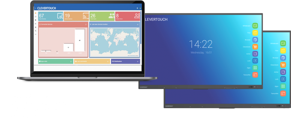 Clevertouch Mobile device management MDM